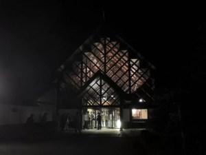 ライブが終わるとあたりは真っ暗:カルロス・アギーレ&キケ・シネシのコンサートに行く