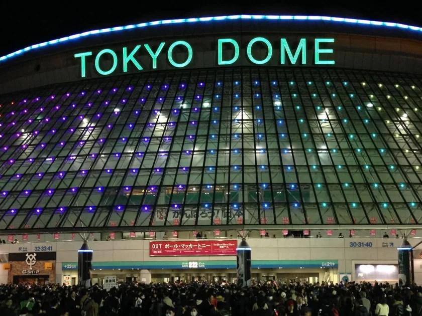 ポール・マッカートニーのライブを東京ドームで観る