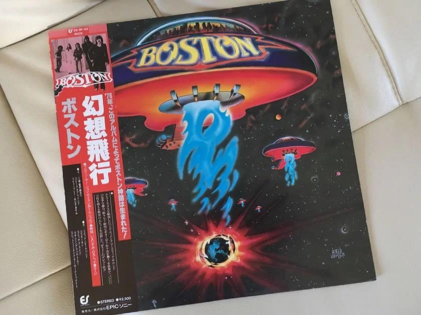 ボストン『幻想飛行』を聴く