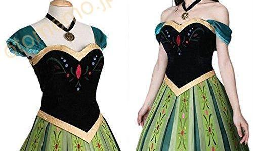 ハロウィン仮装パーティーでディズニー映画『アナと雪の女王』アナのコスプレした体験談