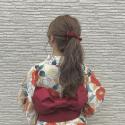 【うなじ毛深い悩み解消!浴衣女子おすすめ脱毛】髪の毛,襟足,理想の形,脇,首,背中のムダ毛産毛処理