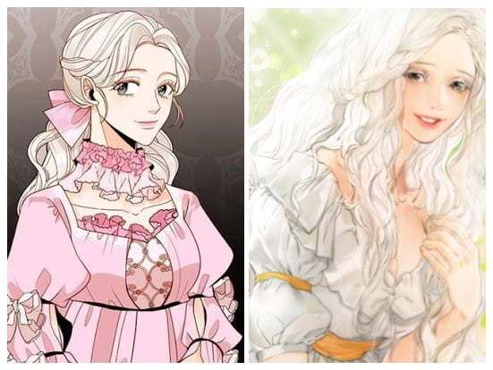 8 Pretty Silver Haired Females In Comics