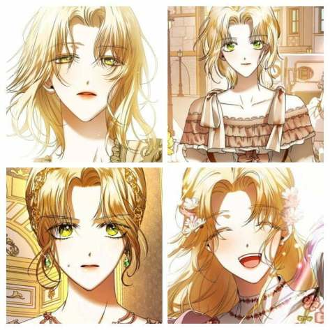 Psyche Callista from Your Throne 9 Beautiful Blonde Female Characters In Manhwa Part 3