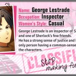 Walkthrough – Guard Me, Sherlock! – George Lestrade