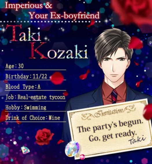 Taki Kozaki Profile