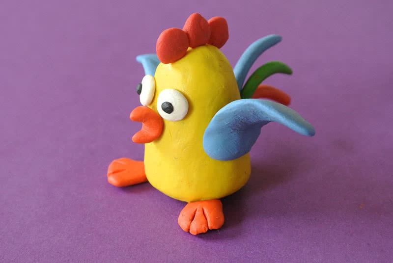 Картинки цыпленка из пластилина слегка отличался