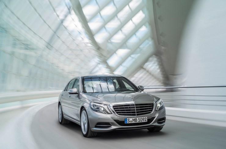 Mercedes-Benz S Serisi Ön