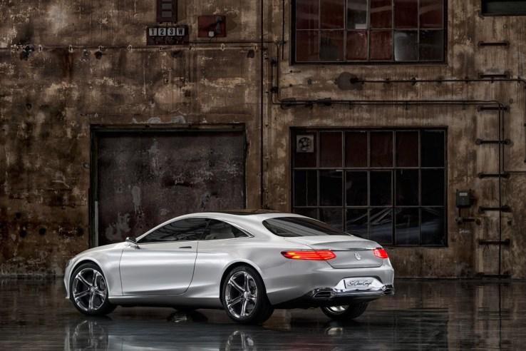 Mercedes-Benz S Class Coupe Arka
