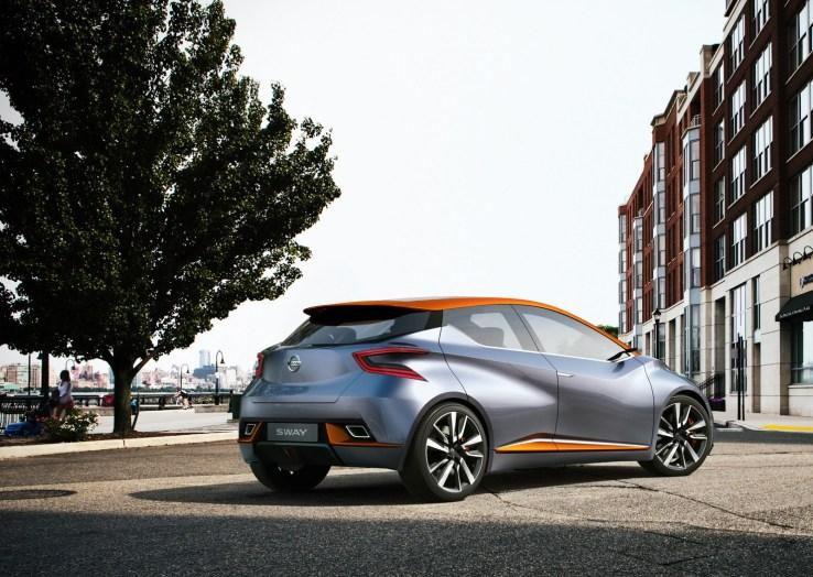 Nissan Sway Konsepti Arka