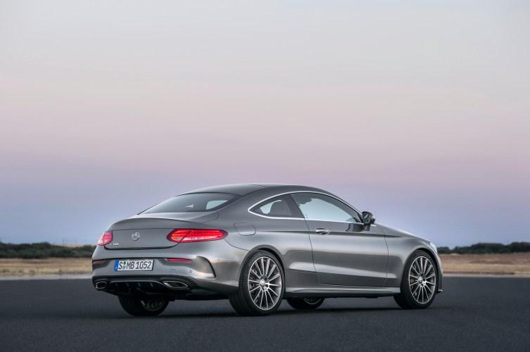Mercedes-Benz C-Serisi Coupe Arka
