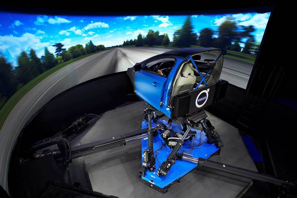 Volvo Cars'dan Dünyanın En Gelişmiş Şasi Simülatörü | Otomobilkolik