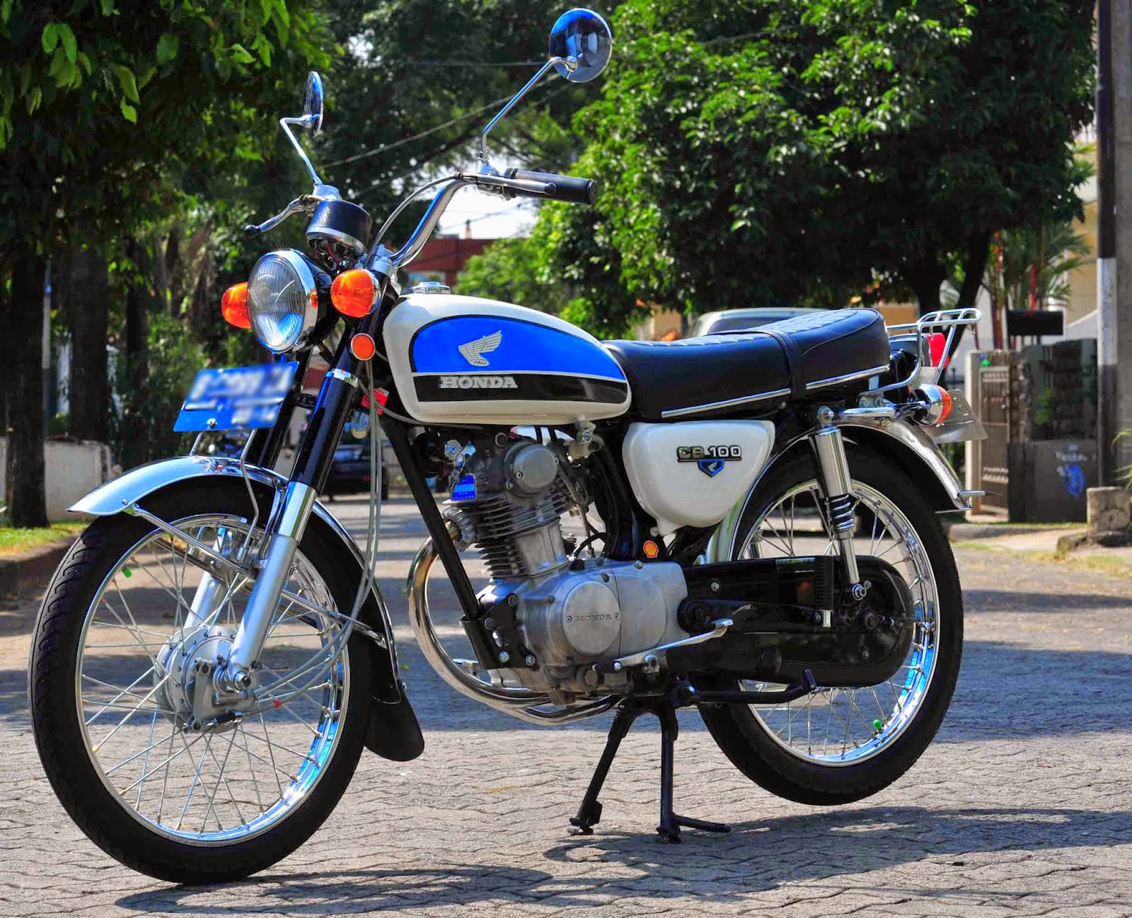 Foto Motor Cb 100 Modifikasi  1stmotorxstyleorg