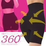 360度シェイプ 履くだけで360度加圧の骨盤圧着痩身法
