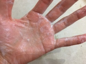 シミシワ石鹸の泡立ち