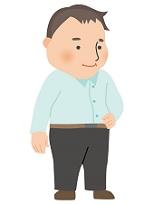 よくいるタイプの中年太り男性