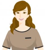管理栄養士の美作イラスト画像