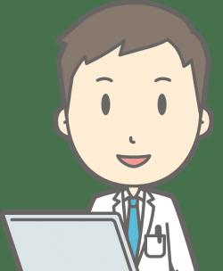 男性管理栄養士のイラスト