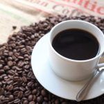 眼がしゃっきりしそうなコーヒーのイメージ