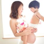経産婦と第一子のほほえましい画像