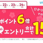 ひかりTVショッピングのd払い15倍還元キャンペーン告知画像