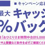 イオンカード最大20%キャッシュバックキャンペーンが再来!先着20万名・上限5000円