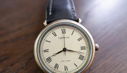 シチズン アンティークな時計 ライトハウス