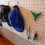 有孔ボードで玄関に収納を作る!お手軽DIYでとっても便利♪