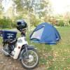 おすすめのツーリングテント/キャンプツーリングで1ヶ月間実際に毎日使ってみた感想
