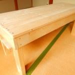 簡単なテーブルの作り方