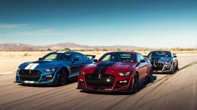 Especificaciones del Mustang Shelby GT