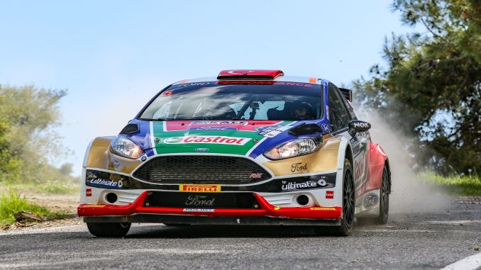 Istanbul Rally castrol Ford Team