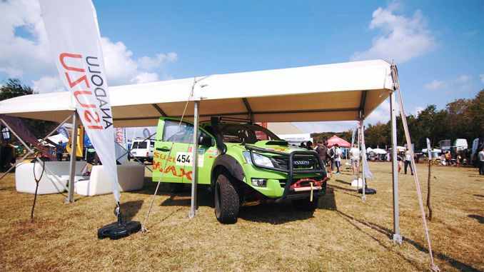 Isuzu D Max Attended the Festival