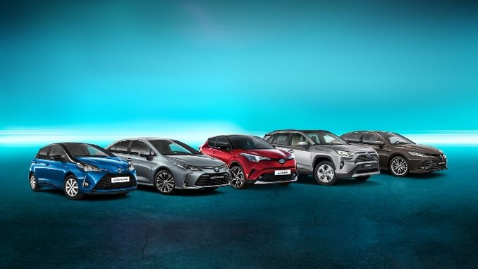 Toyota's Hybrid Cars Exceed Million