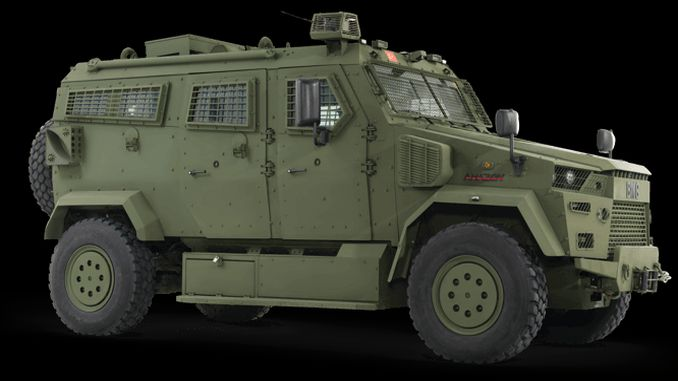 The newest member of the BMC Armored Vehicle family, Amazon