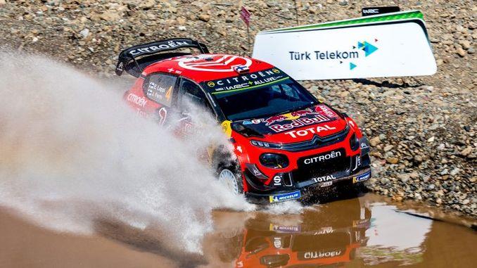 rally de turquía en el calendario WRC 2020