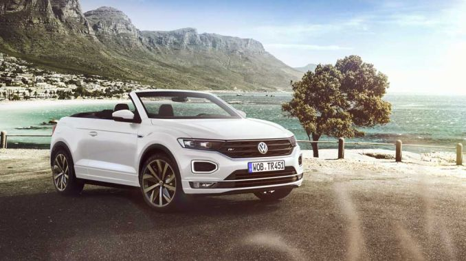 new t roc cabriolet to be exhibited for the first time at the frankfurt auto show