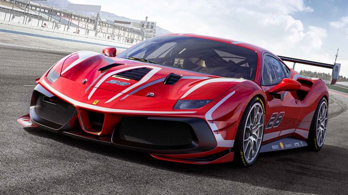 Drēbnieks izgatavoja Pirelli riepas jaunākajam Ferrari Challenge Evo