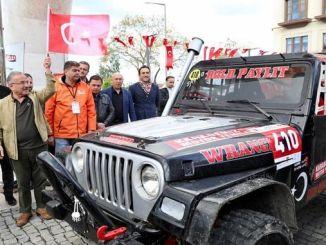 Off Road Kupasi Ayak Ordu Yarisi'nin Seromonik Starti Verildi