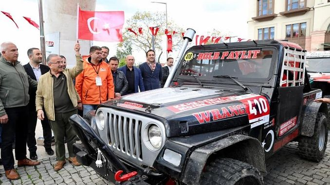 Off Road Cup Foot Army Racing Ceremony