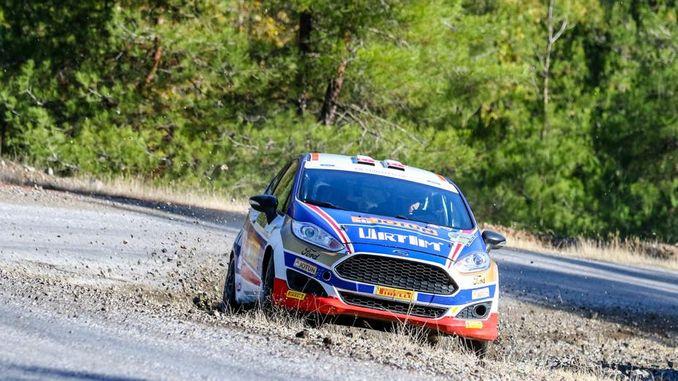 Castrol-Ford team has marked the turkey turkey rally championship