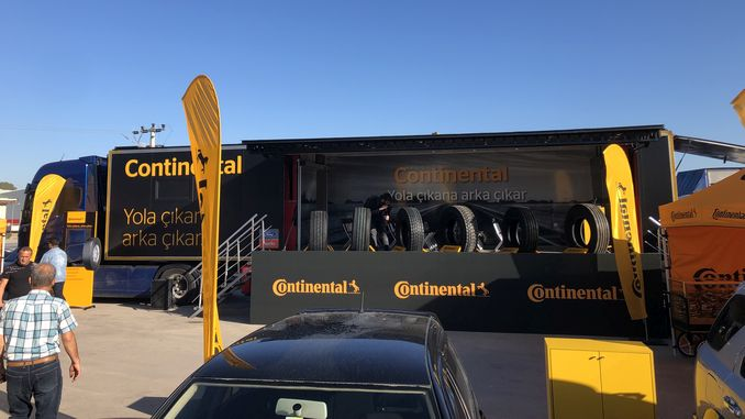 continental truck cooperatives roadshowu with thousand truck drivers