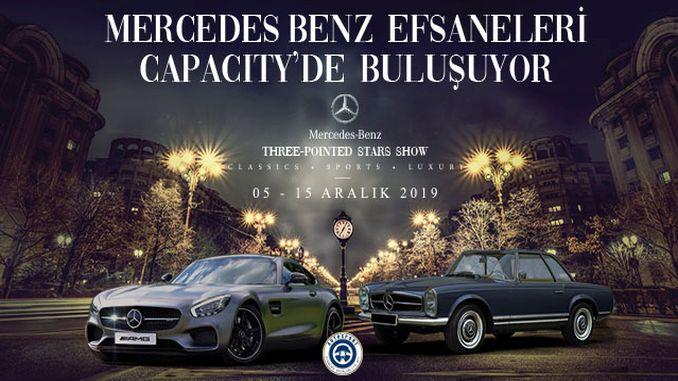 Capacity AVM Mercedes Benz Legend Cars Exhibition