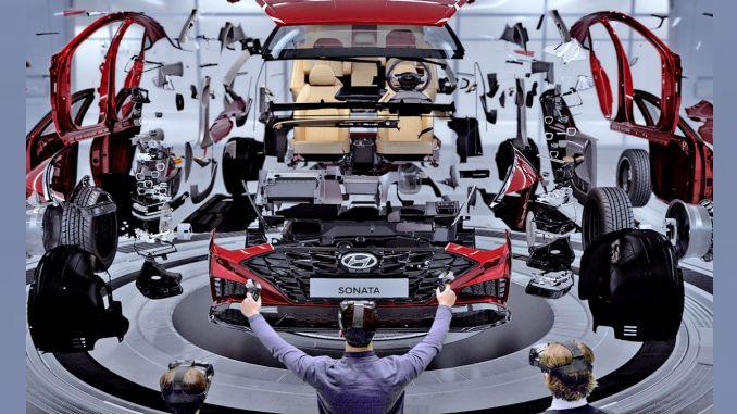 Hyundai uzsāka virtuālās realitātes dizaina novērtēšanas sistēmu