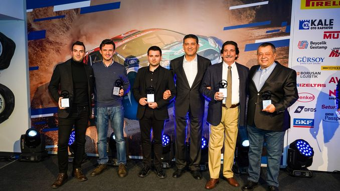 Castrol-Ford team achieved in turkey they have expressed successes celebrated