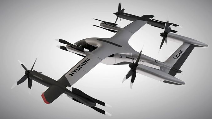 hyundai ceste introduced flying vehicles
