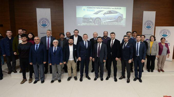 turkiyenin otomobili ve bursa paneli duzenlendi