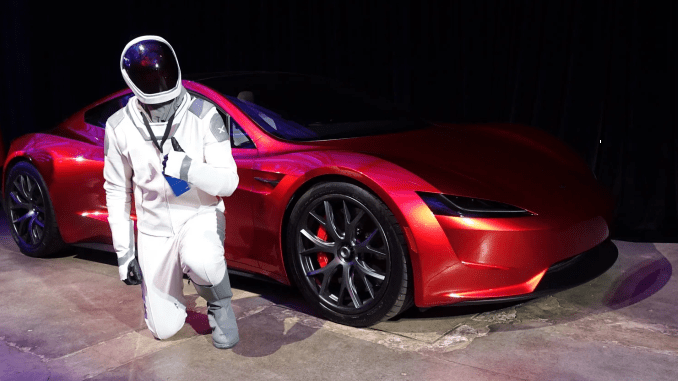 Where Tesla Roadster Sent to Space 2 Years Ago Now
