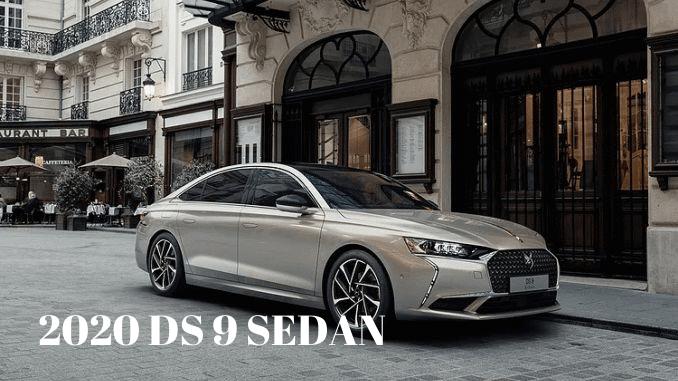 2020 DS9 SEDAN
