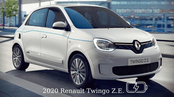 New Renault Twingo ZE 2020