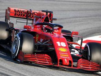 Ferrari new F1 vehicle